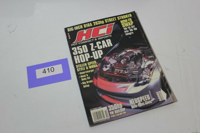 HCI HOT COMPACTS & IMPORTS MAGAZINE OCTOBER 2003 COVER