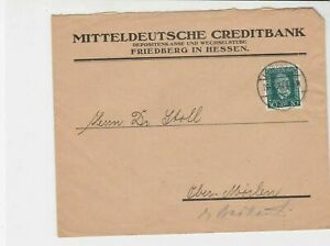 german 1924 stamps cover  ref 18840