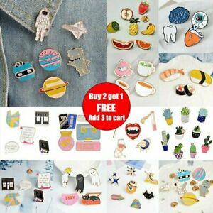 New-Lovely-Cute-Cartoon-Enamel-Lapel-Collar-Pin-Corsage-Brooch-Fashion-Jewelry