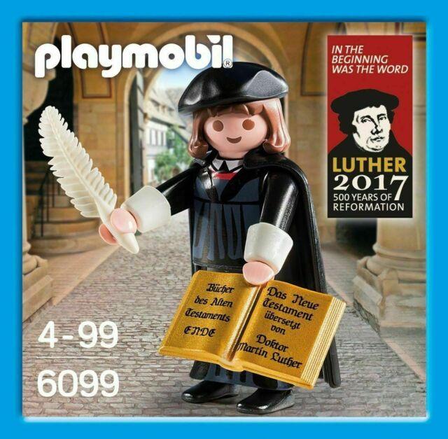 "PLAYMOBIL 6099 MARTIN LUTERO / LUTHER. RETIRADO. CON LA PALABRA ""ENDE"". NUEVO."