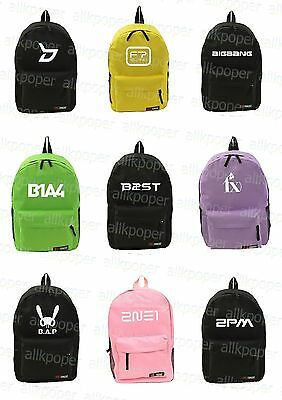 Kpop  Satchel Bag Block.B F.T.Island Bigbang  fx BAP Back To School backpack