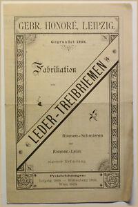 ORIG-folleto-fabricacion-de-cuero-Correas-para-1870-tecnologia-historia-SF