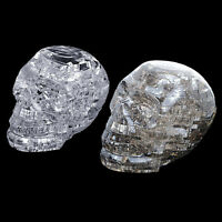 3d Crystal Puzzle Diy Jigsaw Assembly Model Gift Toy Skull Skeleton Wr