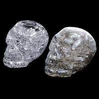 3d Crystal Puzzle Diy Jigsaw Assembly Model Gift Toy Skull Skeleton Wr