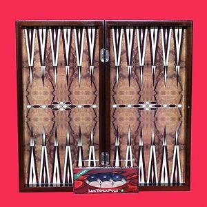 20-034-YENIGUN-TURKISH-TAVLA-BACKGAMMON-BURLWOOD-DESIGN-amp-CHESS-STORAGE-BOARD