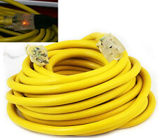 50Ft 10 /3 Gauge industrial power SJTW Pro Glo Electrical Extension Cords cable
