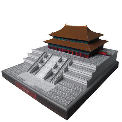 New DIY Nikko Toshogu Shrine Famous Building 3D Paper Model Creative Puzzle Kit