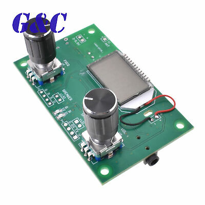 LCD Display 87-108MHz DSP /& PLL Stereo FM Radio Receiver Module Board with Case