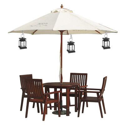 LED Solar-Licht Sonnen-Leuchte Laterne Deko-Lampe Garten Beleuchtung Windlicht