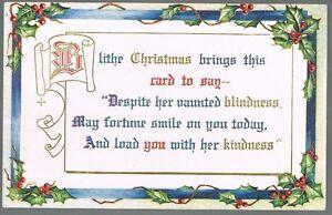 Vintage-1910-Blithe-Christmas-Greetings-Postcard