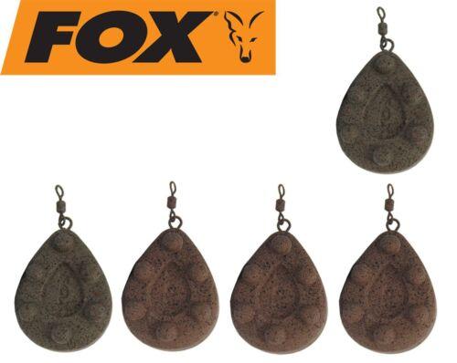 Fox Bleie Kling on Leads Karpfenbleie Wirbelbleie Blei