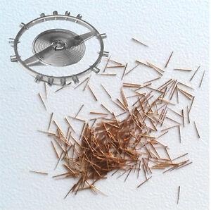Set-de-100-micro-goupilles-coniques-en-laiton-pour-viroles-Swiss-Made-Hairspring