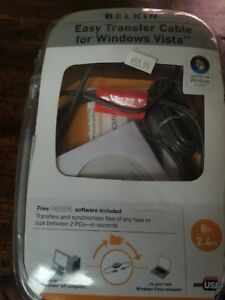 Belkin-Easy-Transfer-Cable-for-Windows-Vista-Used