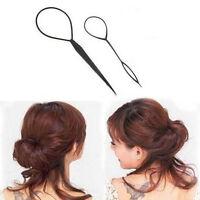 SET Topsy Tail Haar Dreher Frisurenhilfe Hair Twister Schlinge Schlaufe Styler