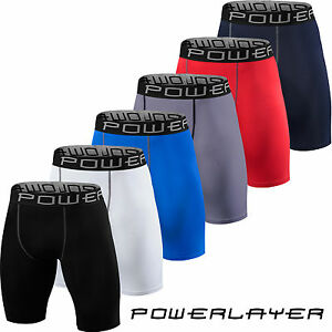Mens-Boys-Compression-Armour-Shorts-Base-Layer-Thermal-Sport-Skins-Under-Gear