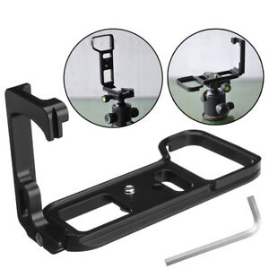Image is loading FITTEST-QR-L-Plate-Bracket-Camera-Grip-Camera-  sc 1 st  eBay & FITTEST QR L Plate Bracket Camera Grip Camera Holder for Sony a7 R ...