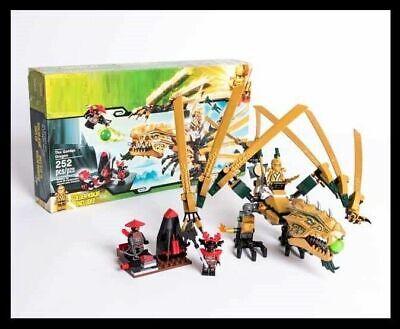 THE FINAL BATTLE set LlOYD GOLDEN DRAGON NINJAGO fits lego figure