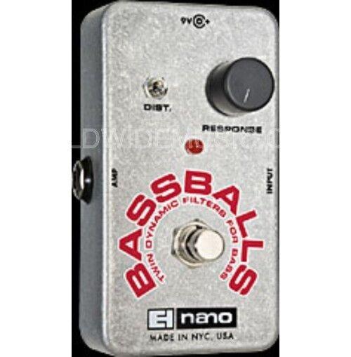 EHX EHX EHX Electro Harmonix NANO BASSBALLS Guitar Effects Pedal 952f92
