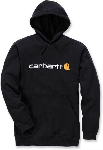 Carhartt hooded Signature logo hooded Carhartt sweatshirt 51308e ... 69ffec77d7