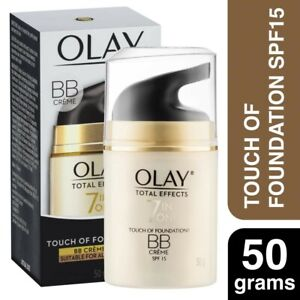 Olay Total Effects 7 in One Touch of Foundation BB Crme Face Cream SPF 15 50 ...