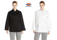 Dickies Women's Annabella Executive Chef Coat, Chef Jacket 100% Cotton Dc114