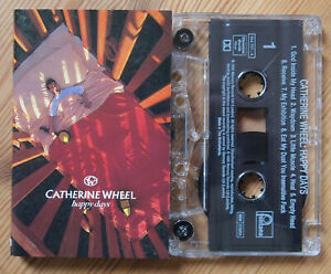 CATHERINE-WHEEL-HAPPY-DAYS-FONTANA-5147174-1995-UK-CASSETTE-SHOEGAZE-BRITPOP