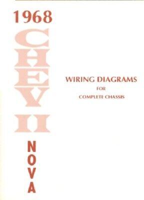 CHEVY II/NOVA 1968 Wiring Diagram 68 | eBayeBay
