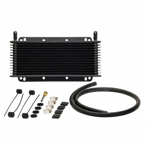"""TCI AUTOMOTIVE 824101 Max-Cool Transmission Cooler 4/"""" x 11/"""" 3//8/"""" Inlet//Outlet"""
