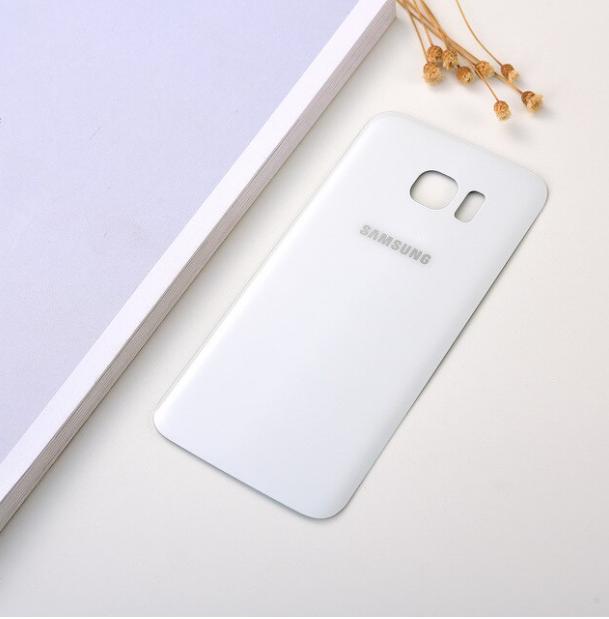 Vitre Arriére Samsung Galaxy S 7 Edge - Blanc