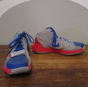 7aed5aef9eb3 NIKE KD TREY 5 III Mens 8 Gray Blue Read Mid Basketball Shoes ...