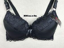 5b6a994f341 1 New Womens Plus Size Push Up Lace Bra UnderWire Underwear 34 36 46 48 DDD