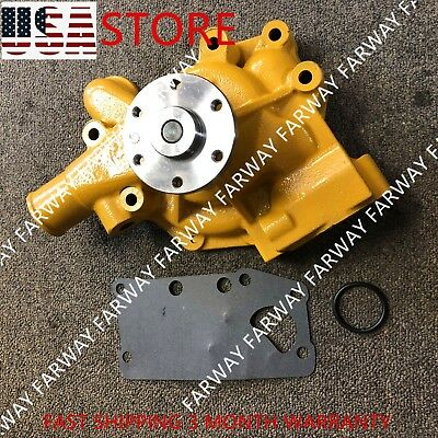 Water Pump 6206-61-1100 6206-61-1101 For Komatsu 6D95L S6D95 PC200-5 PC220-5 NEW