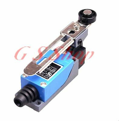1PCS ME-8108 Rotary Metal Roller Lever Momentary Enclosed Limit Switch