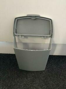 HARTAL-CARAVAN-MOTORHOME-ENTRANCE-DOOR-WASTE-BIN-INCL-FIXINGS-SQUARE-SHAPE-GREY