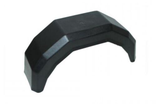 "2x 13 inch black plastic trailer mudguard 13/"" mud guard boat wheel arch pair P"