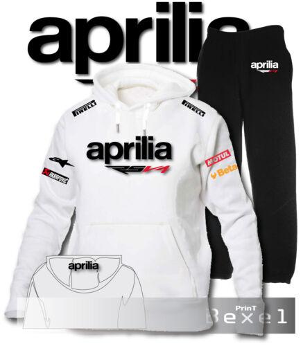 Trousers Team Moto Gp Plush Jumpsuit Hoodie Aprilia Rsv4 Raging Sweatshirt