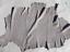 thumbnail 2 - lambskin leather hide skin Extra Large Smoke Grey Baby Dragon Scale Embossed