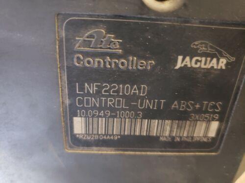 2000 2001 02 2003 JAGUAR XJ8 XK8 VANDEN PLAS ABS MODULE PUMP LNF2210AD MNF5920AD