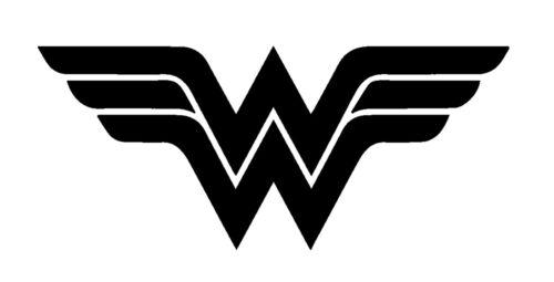 DC Batman Wonder Woman Logo Vinyl Decal Truck Car Sticker Laptop