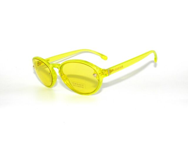 75262d71e64 Versace 4352 Sunglasses 528285 Yellow 100 Authentic for sale online ...