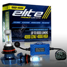 GENSSI 9007/HB5 76W Cree White High Power LED hi/lo Dual Beam Headlight Kit