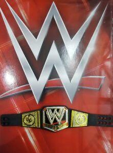 WWE MATTEL ELITE SERIES HEAVYWEIGHT WORLD CHAMPION BELT FOR WRESTLING FIGURES