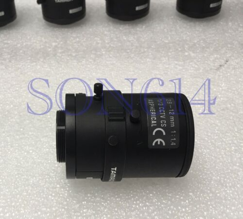 "1//3/"" CS Mount 1:1.4 ASPHERICAL CCTV Camera 1x TAMRON Lens 2.8~12mm Varifocal"
