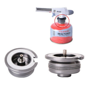 Gas Bottle Adapter Outdoor Camping Stove Gas Can Tank Adapter Burner Converter