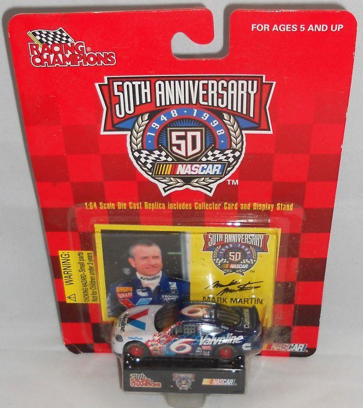 Mark Martin 50th Anniversary Racing Champions 1 64