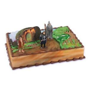 THE-HOBBIT-BIRTHDAY-PARTY-CAKE-DECORATING-KIT-TOPPER-BRAND-NEW