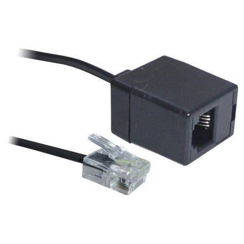 3M 5M 6 M 10m 15 M ADSL Rj11 Breitband Modem Verlängerungskabel Leitung