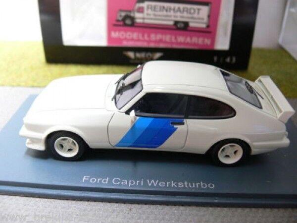 1 1 1 43 neo Ford Capri fábrica turbo 43329 e7c75a