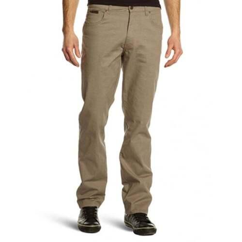 Da Nuovo Jeans Tranquillo Leggero Regular nero Etichetta Tessuto Wrangler Stretch chiaro Oliva Uomo Con Verde Texas Grigio 5xST8T