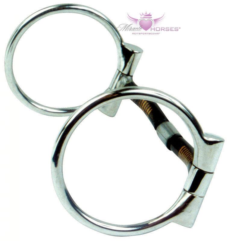 Busse Billy Billy Billy Allen D-Ring Bit Sweet Iron rostend mit Kupfer-Inlays 11,5 - 14,5 cm  | Outlet  d4d932